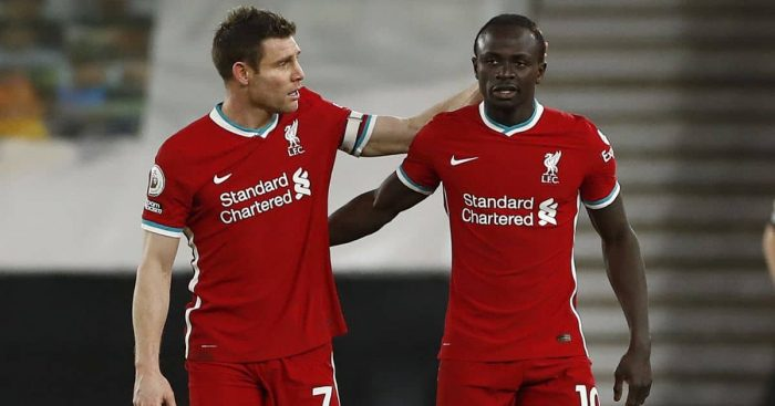 James Milner; Sadio Mane TEAMtalk