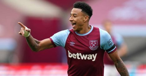 Jesse Lingard West Ham United celeb