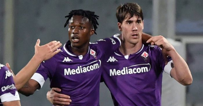 Christian Kouame, Dusan Vlahovic, Fiorentina