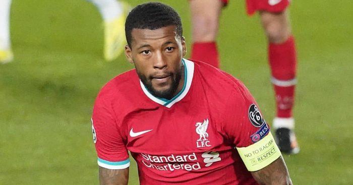 Georginio Wijnaldum, Liverpool midfielder