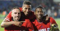 Jerome Boateng, David Alaba, Franck Ribery Bayern Munich glory days