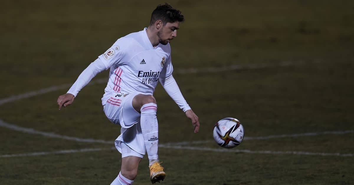 Federico Valverde Real Madrid January 2021