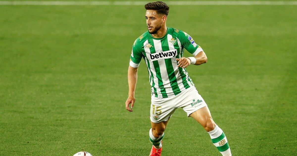 Alex Moreno Real Betis v Atletico Madrid April 2021