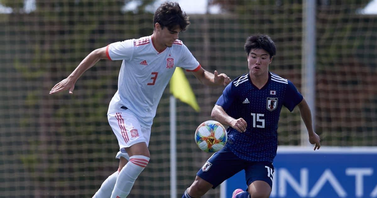 Miguel Gutierrez Real Madrid, Spain Under-19s September 2019