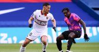 William Saliba, Arsenal defender on loan at Nice