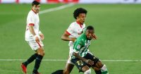 Emerson Royal, Jules Kounde Sevilla v Real Betis March 2021