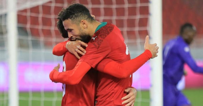 Youssef En-Nesyri Sevilla, Morocco March 2021