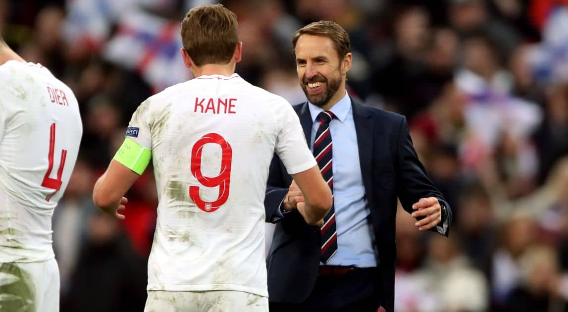 Harry Kane, Gareth Southgate England TEAMtalk