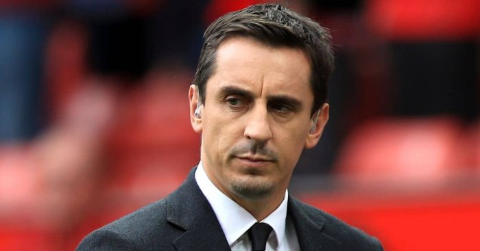 Gary Neville, Sky Sports pundit and European Super League campaigner