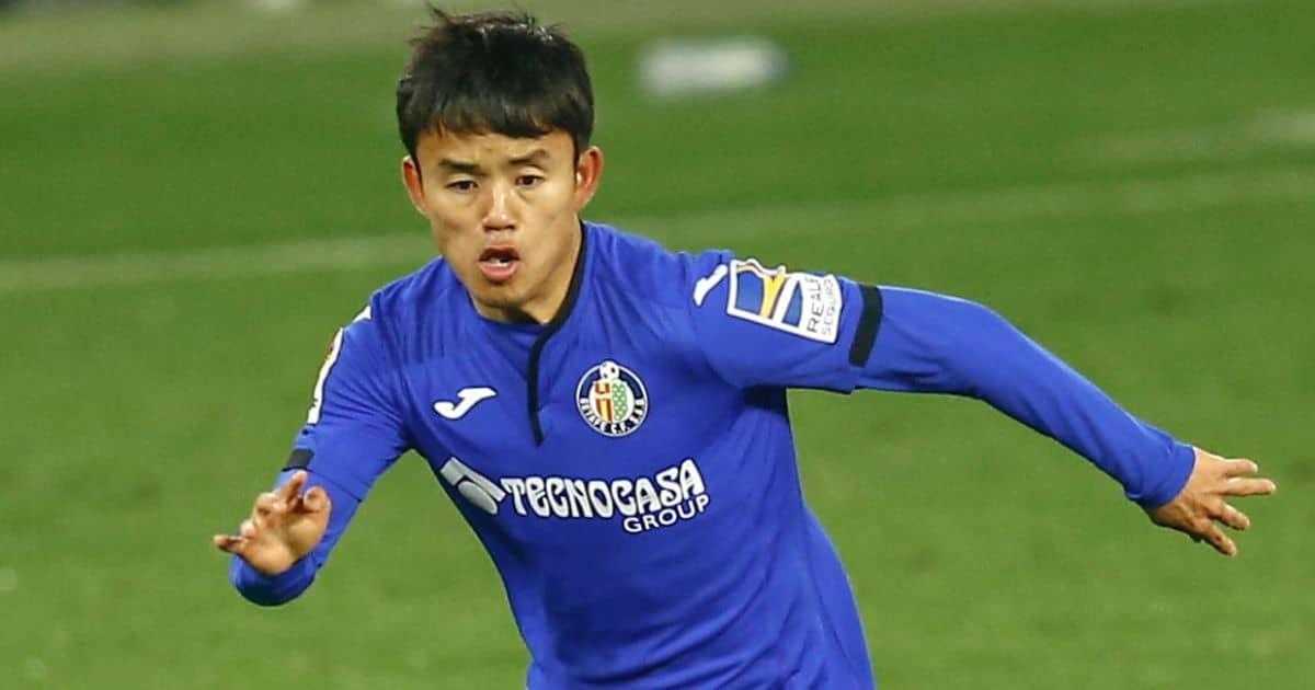 Takefusa Kubo, Getafe on loan from Real Madrid
