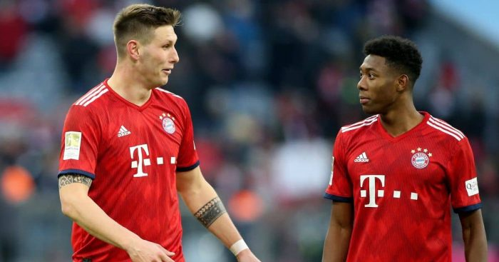 Niklas Sule, David Alaba Bayern Munich