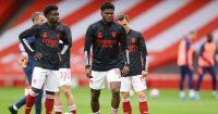 Bukayo Saka, Thomas Partey Arsenal