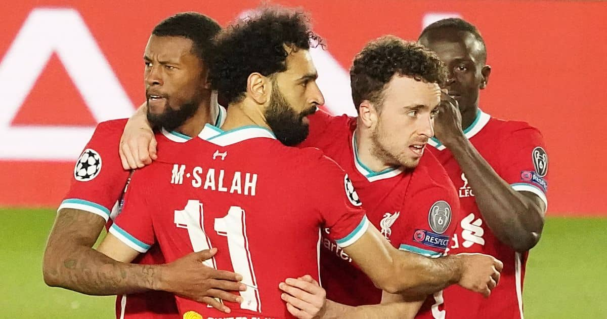 Georginio Wijnaldum, Mohamed Salah, Diogo Jota, Sadio Mane, TEAMtalk