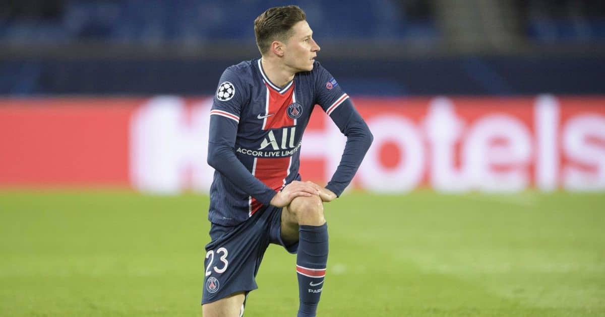 Julian Draxler Paris Saint-Germain v Bayern Munich April 2021