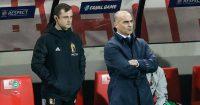 Roberto Martinez Belgium staff