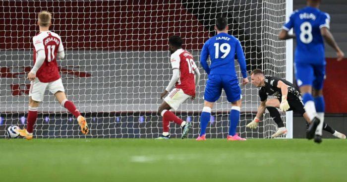 Bernd Leno error Arsenal v Everton TEAMtalk