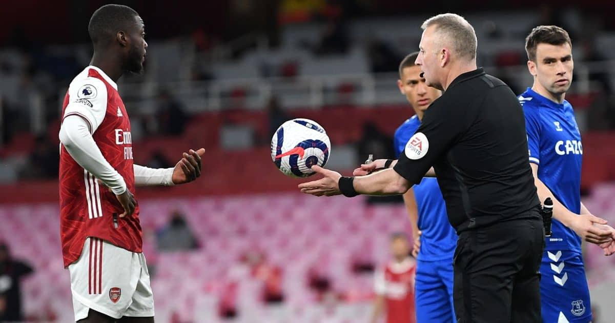 Nicolas Pepe VAR Arsenal TEAMtalk