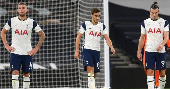 Toby Alderweireld, Harry Winks, Gareth Bale Tottenham