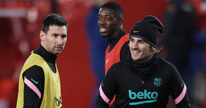 Messi.Griezmann.Dembele.Barcelona.TEAMtalk