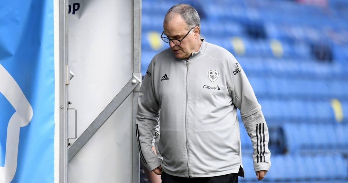 Marcelo Bielsa Leeds v Man Utd April 2021