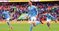 Aymeric Laporte Man City v Tottenham April 2021