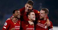 Wijnaldum, Firmino, Milner, Henderson, Liverpool