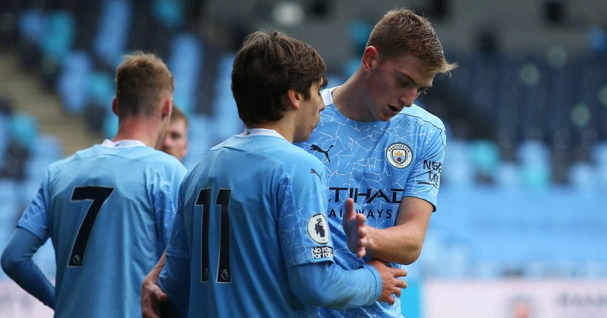 Adrian Bernabe Liam Delap Man City Premier League 2 TEAMtalk