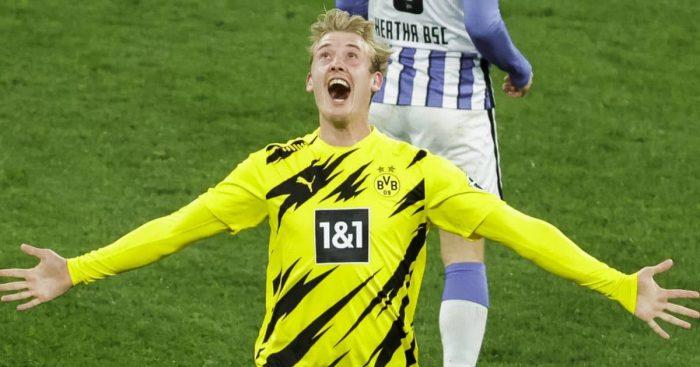 Julian Brandt, Dortmund delight