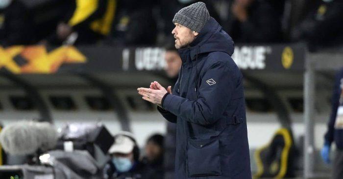 Erik Ten Hag Young Boys v Ajax March 2021