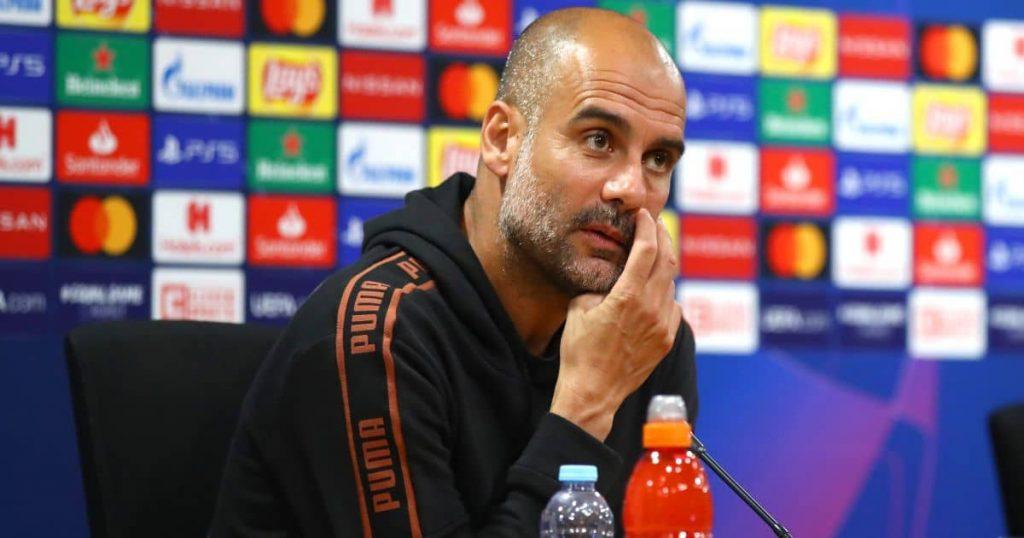 Pep Guardiola, Champions League press