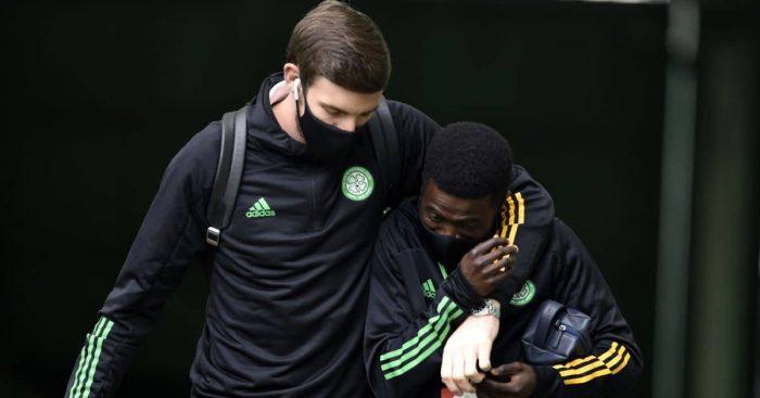 Ismaila Soro, Vasilis Barkas Celtic August 2020