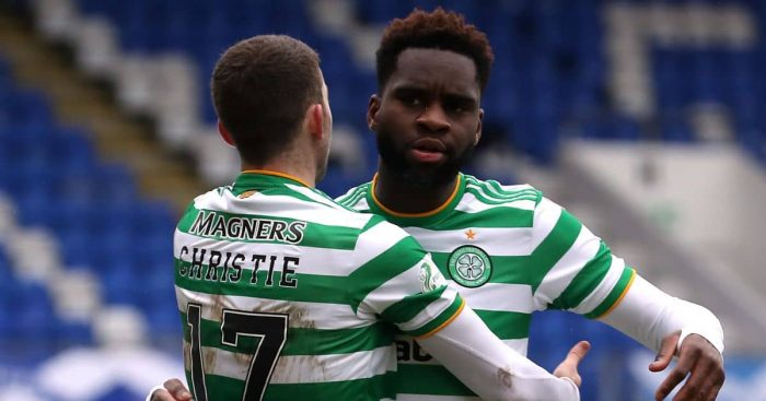 Ryan Christie, Odsonne Edouard Celtic