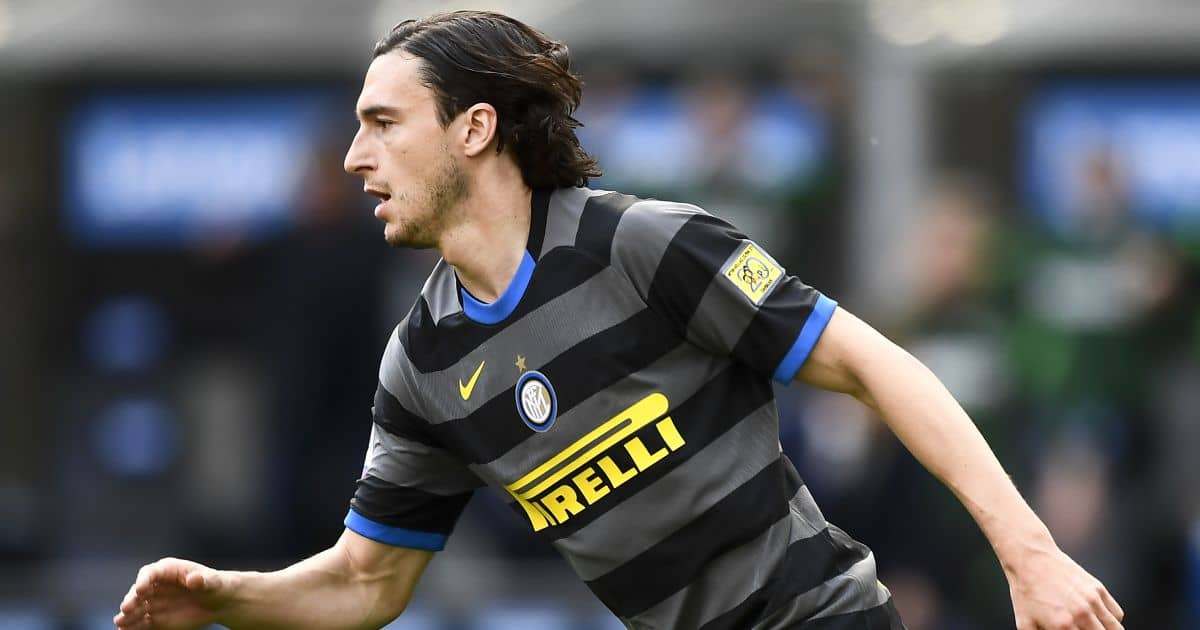 Matteo Darmian Inter v Hellas Verona April 2021