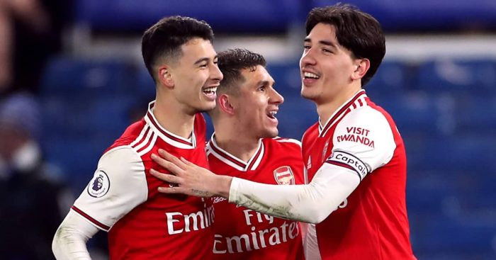 Torreira.Martinelli.Bellerin.Arsenal.TEAMtalk