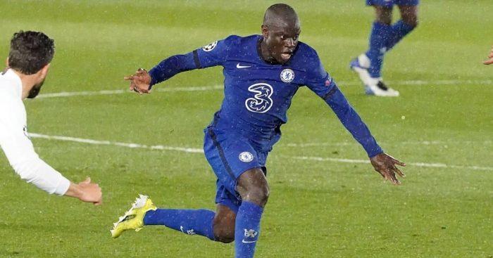N'Golo Kante Real Madrid v Chelsea April 2021