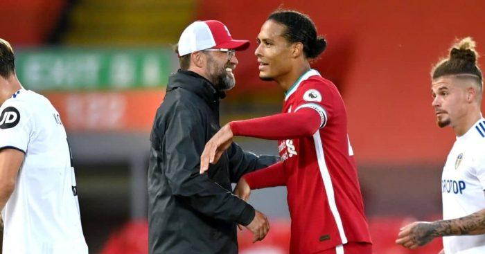 Jurgen Klopp, Virgil van Dijk Liverpool TEAMtalk