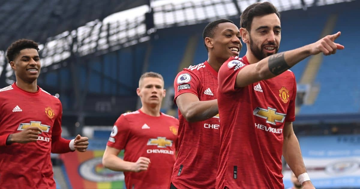 Bruno Fernandes, Anthony Martial, Scott McTominay, Marcus Rashford Man Utd TEAMtalk