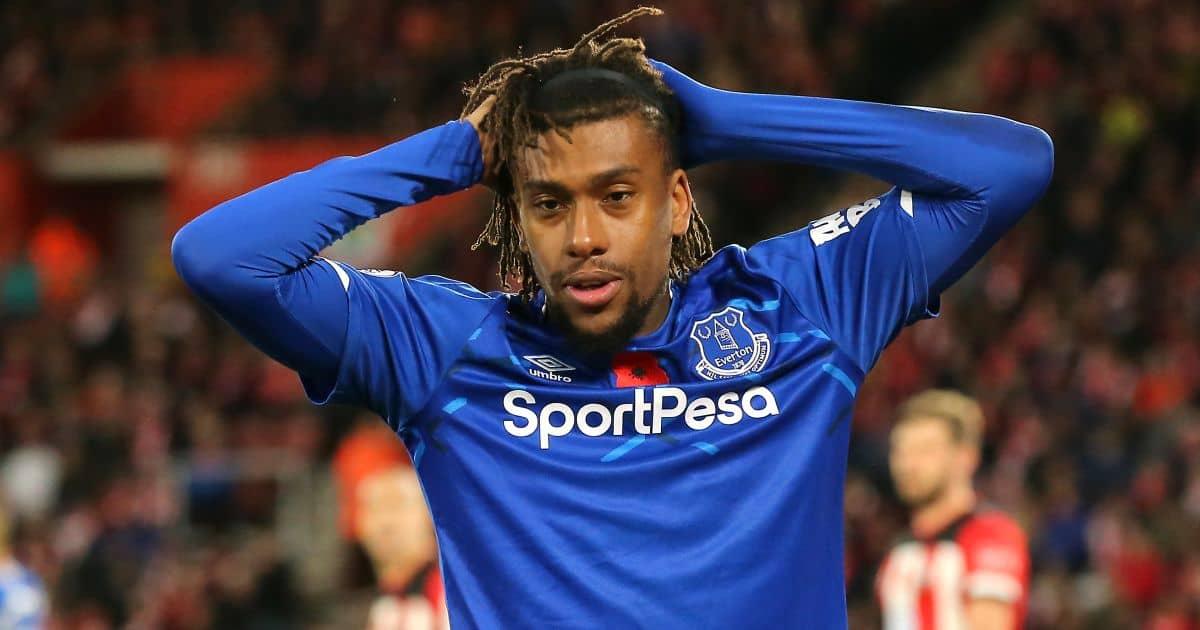 Alex Iwobi Everton TEAMtalk