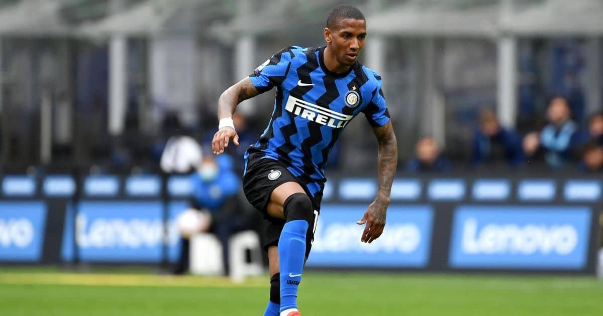 Ashley Young Inter v Cagliari April 2021