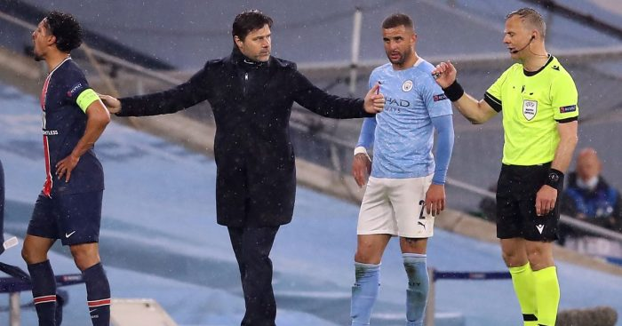 Mauricio Pochettino Man City v PSG May 2021