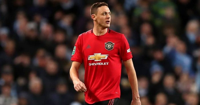 Nemanja Matic Man Utd January 2020