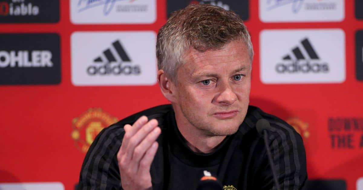 Ole Gunnar Solskjaer Man Utd press conference