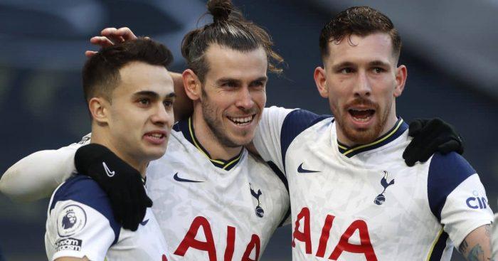 Sergio Reguilon; Gareth Bale; Pierre Emile Hojbjeg TEAMtalk