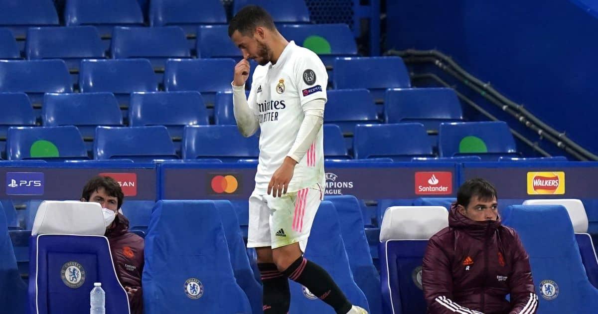 Eden Hazard Chelsea v Real Madrid May 2021