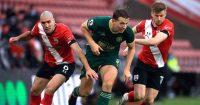 Sander Berge, Stuart Armstrong Southampton v Sheff Utd December 2020
