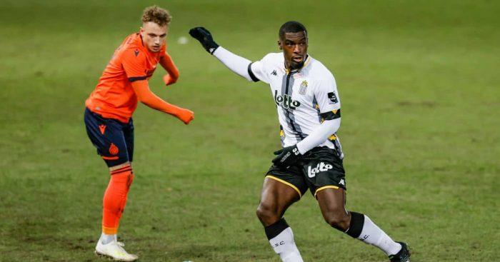 Noa Lang Charleroi v Club Brugge March 2021
