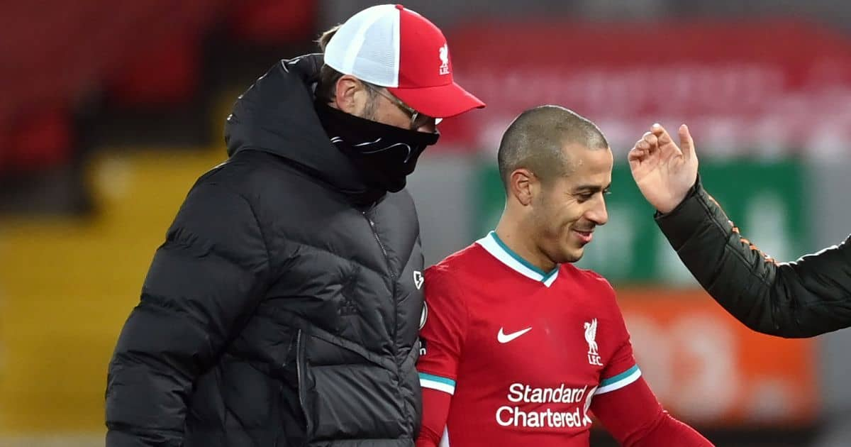 Jurgen Klopp, Thiago Alcantara, Liverpool FC