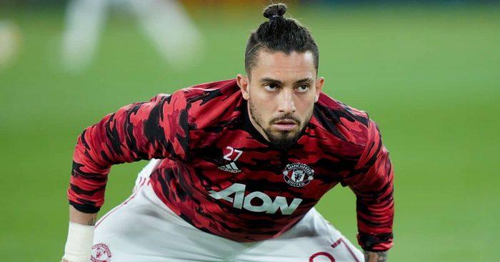 Alex Telles, Manchester United warm-up