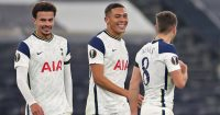 Dele Alli, Carlos Vinicius, Harry Winks, Tottenham