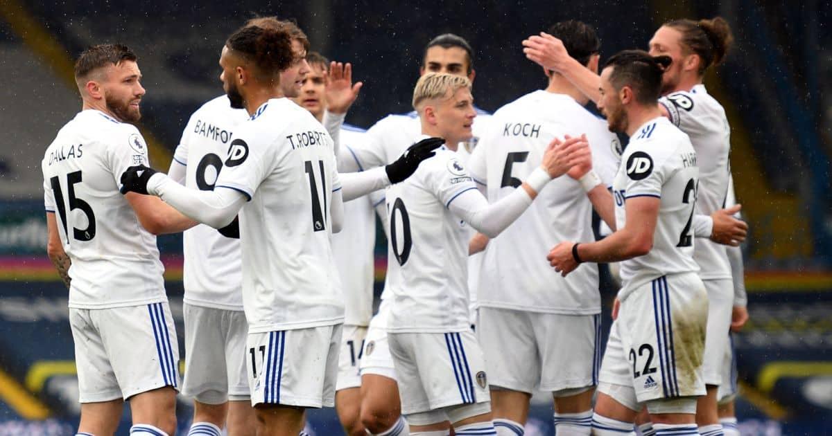 Tottenham top-four hopes badly hurt as rampant Leeds hit points milestone